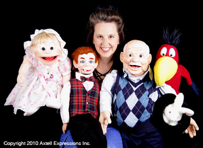 Wendy Stuart and Puppets